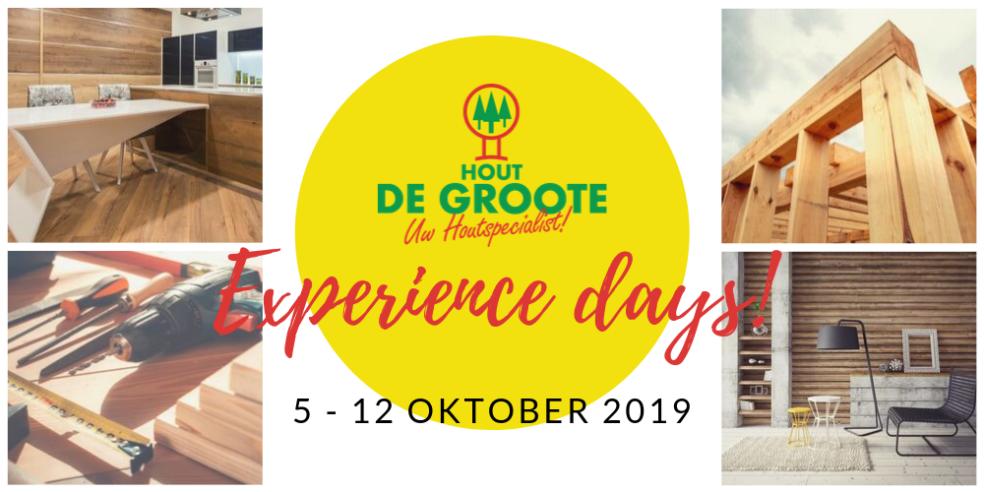 Experience days bij Hout De Groote