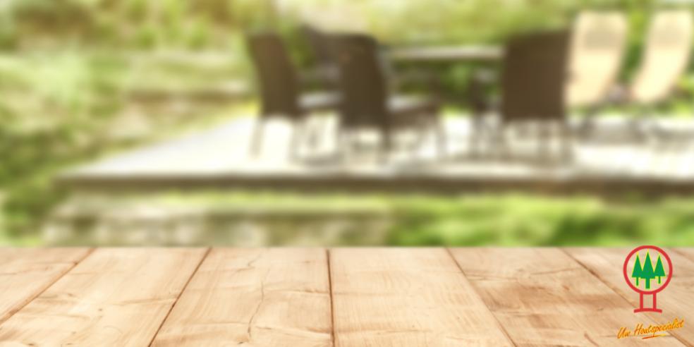 houten terras onderhouden tips