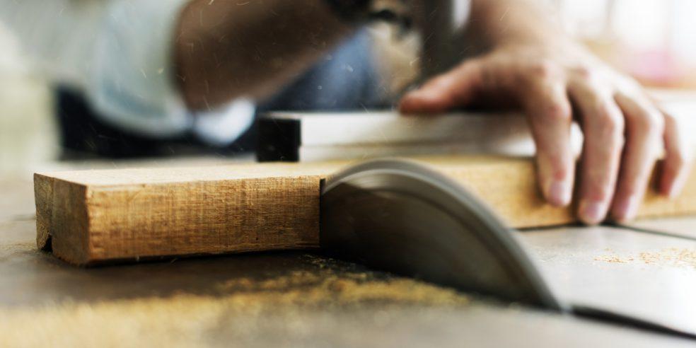 zaagwerk hout